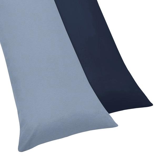 Sweet Jojo Designs Ocean Blue Body Pillow Case