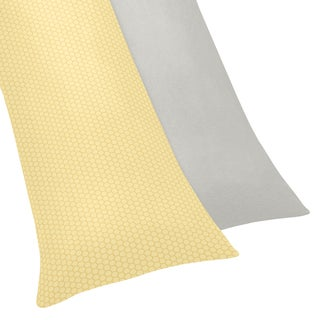 Sweet Jojo Designs Honey Bee Body Pillow Case