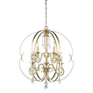 Golden Lighting Ella Two Tier - Nine Light Chandelier - Sovereign Bronze