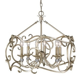 Golden Lighting #4616-3P WG Colette 3-light Pendant