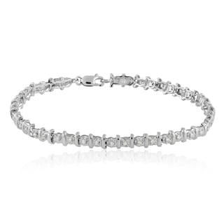 10k Gold 1/2ct TDW Diamond Tennis Bracelet