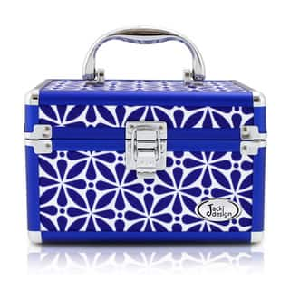 Jacki Design Contour Compact Train Case (Option: Blue)|https://ak1.ostkcdn.com/images/products/12754701/P19530862.jpg?impolicy=medium