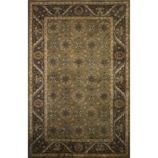 Hand-tufted Avalon Wool Rug (9'6 x 13')