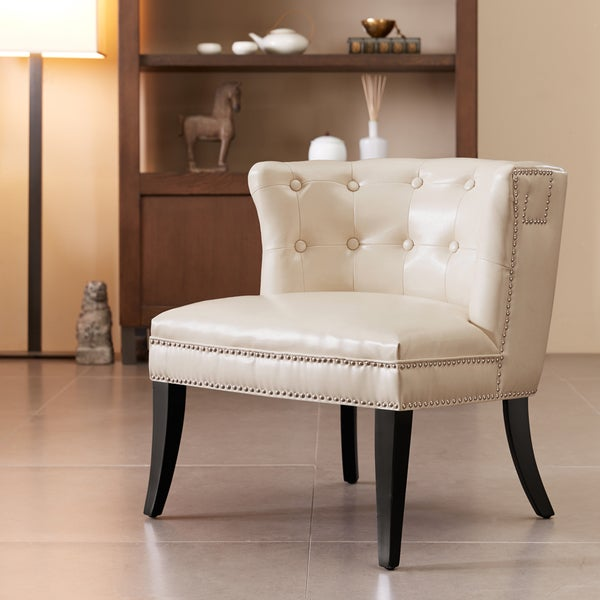 Madison Park Leah Accent Chair: Shop Madison Park Marlee Ivory Accent Chair