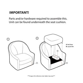Madison Park Kara Charcoal Shelter Wing Chair