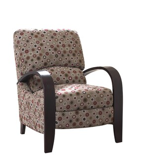 Madison Park Brydon Cream Bent Armchair Recliner