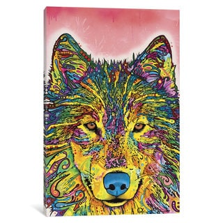 iCanvas Wolf I by Dean Russo Canvas Print