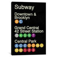 iCanvas NYC by Erin Clark Canvas Print