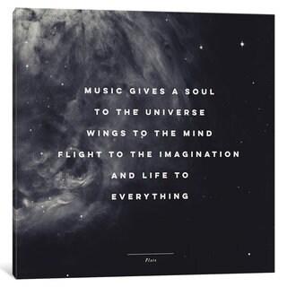 iCanvas Music I by Galaxy Eyes Canvas Print