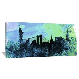 Naxart Studio 'New York City Skyline' Stretched Canvas Wall Art
