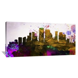 Naxart Studio 'New Orleans City Skyline' Stretched Canvas Wall Art