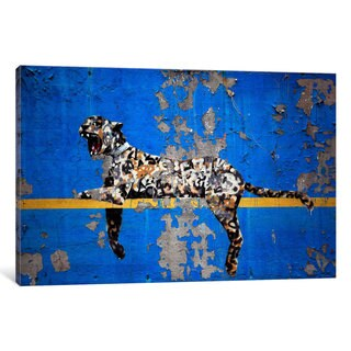 iCanvas Yankee Stadium Tiger by Banksy Canvas Print