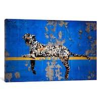 iCanvas Yankee Stadium Tiger by Banksy Canvas Print