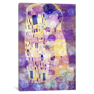 iCanvas The Kiss II by 5by5collective Canvas Print