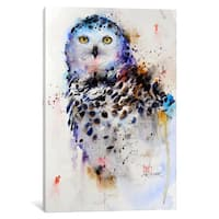 iCanvas Owl by Dean Crouser Canvas Print