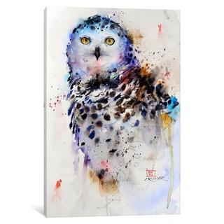 iCanvas Owl by Dean Crouser Canvas Print