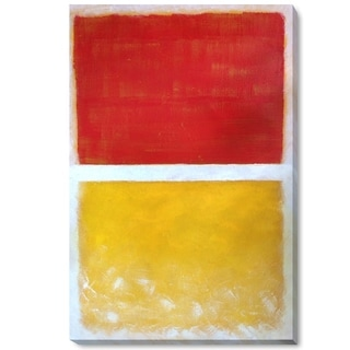 Mark Rothko 'Untitled, 1952' Hand Painted Framed Canvas Art