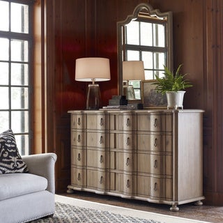 Universal Authenticity Matte Khaki 8-drawer Dresser