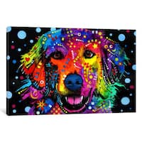iCanvas Golden Retriever by Dean Russo Canvas Print