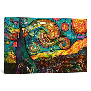 iCanvas Starry Night by Dean Russo Canvas Print