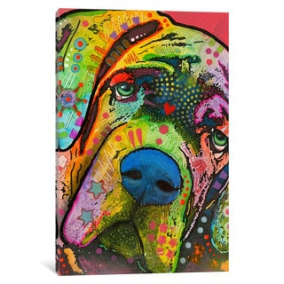iCanvas Mastiff by Dean Russo Canvas Print