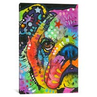 iCanvas What You Lookin At by Dean Russo Canvas Print