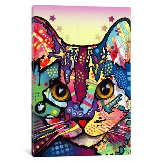 iCanvas Maya Cat by Dean Russo Canvas Print