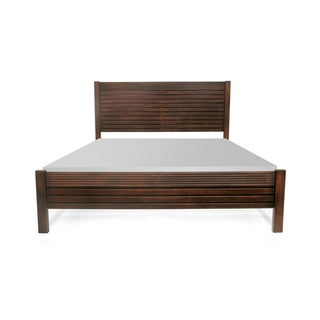 Artefama Vienna Distressed Pine Wood King Bed