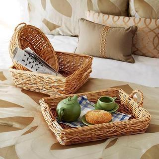 Spring Bird Nest Willow Baskets (Set of 3)