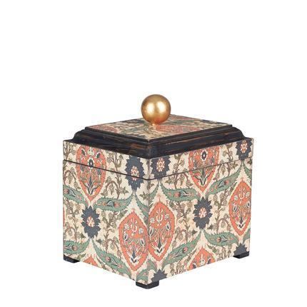 Small Vintage Keepsake Box, Multi