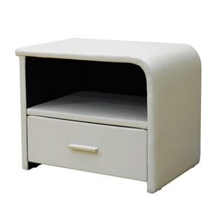 Greatime Vinyl One-drawer Nightstand