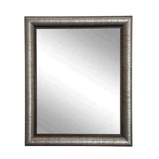 Multi Size BrandtWorks Silver Metallic Wall Mirror - Silver/Grey