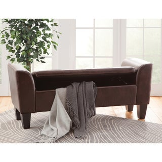 Claire Upholstered Storage Bench (3 options available)
