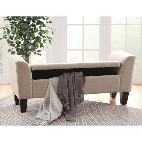 Claire Upholstered Storage Bench