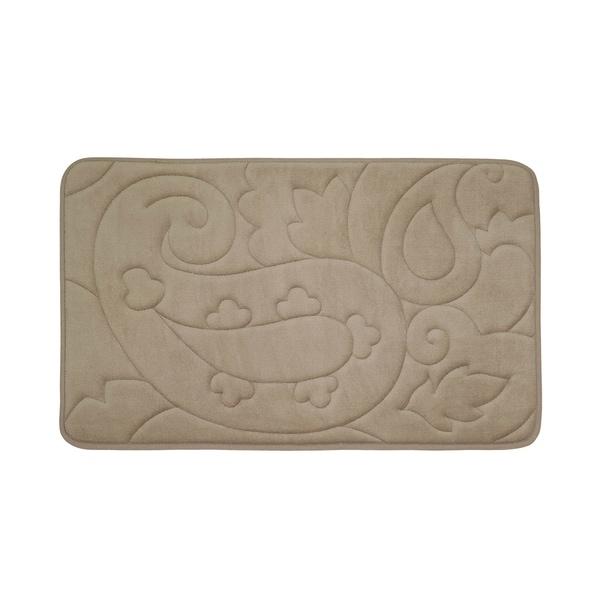 Pelton Micro Plush 17 x 24-inch Memory Foam Bath Mat with BounceComfort Technology