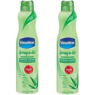 Vaseline Spray and Go Aloe Fresh 6.5-ounce Moisturizer (Pack of 2)