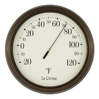 "LaCrosse Technology 104-108 8"" Round Dial Thermometer"