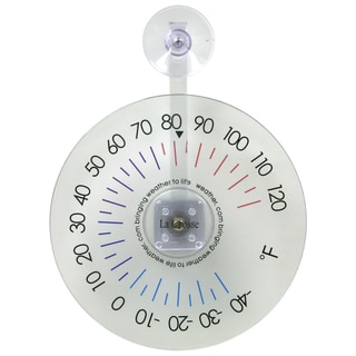 "LaCrosse Technology 105-1061 6"" Hanging Dial Window Thermometer"