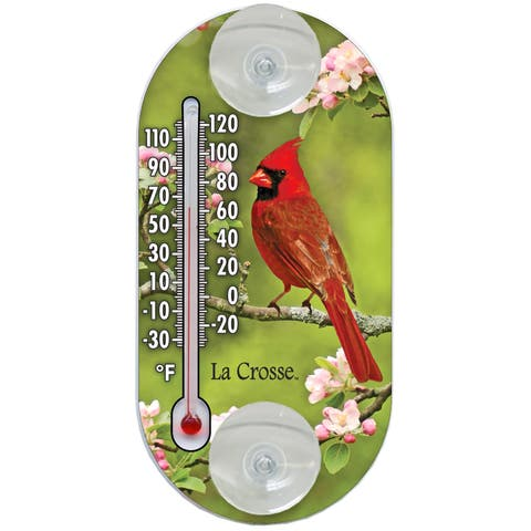 """LaCrosse Technology 204-104 4"""" Cardinal Tube Thermometer"""