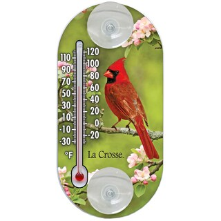 "LaCrosse Technology 204-104 4"" Cardinal Tube Thermometer"