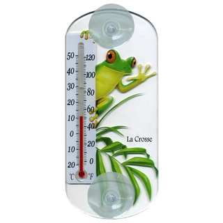 "LaCrosse Technology 204-108 8.5"" Tree Frog Tube Thermometer"