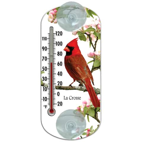 """LaCrosse Technology 204-1081 8"""" Cardinal Tube Thermometer"""