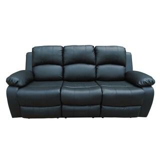Black Utica Reclining Sofa
