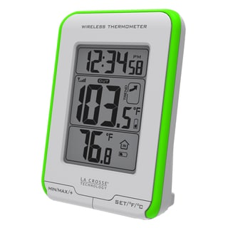 LaCrosse Technology 308-1410GR Green Wireless Thermometer