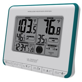 LaCrosse Technology 308-1711BL Blue Wireless Weather Station