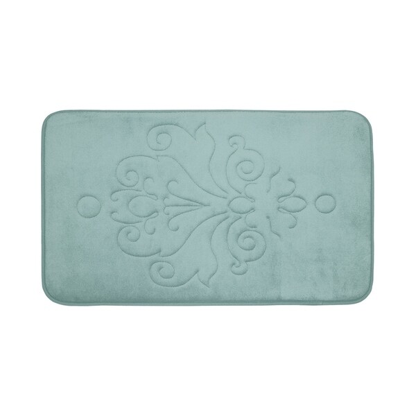 Reve Micro Plush Memory Foam 17 x 24-inch Bath Mat with BounceComfort Technology