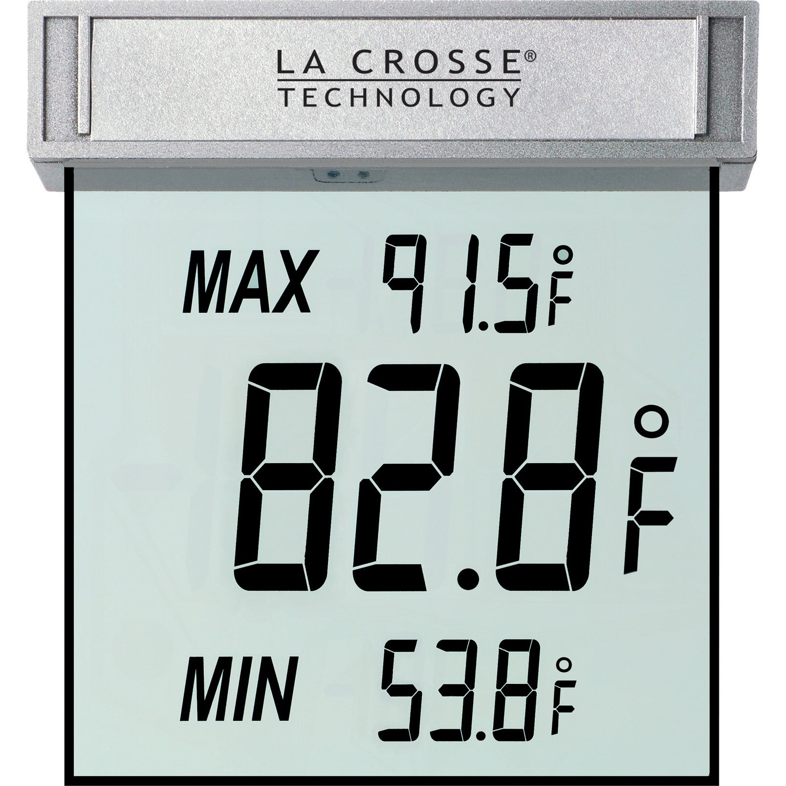 La Crosse Technology WS1025 Outdoor Window Thermometer (T...