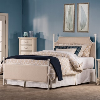 Hillsdale McArthur Off-White Upholstered Bed