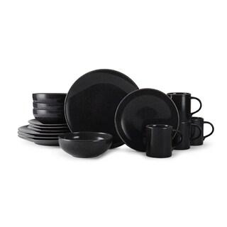 Mikasa Benson Slate 16-piece Dinnerware Set  sc 1 st  Overstock.com & Mikasa Swirl Black 4-piece Dinnerware Set - Free Shipping Today ...