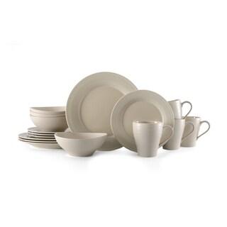 Mikasa Ryder Beige 16-piece Dinnerware Set